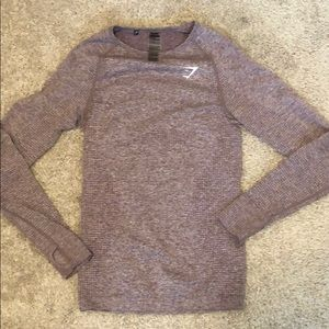 Gymshark Seamless Long Sleeve Size M